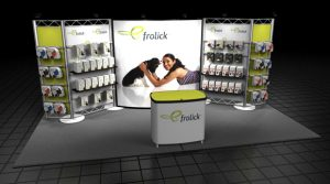 Complete Trade Show Product Display